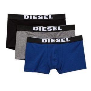Diesel Rocco Boxer Trunks - Pack of 3 - NIB